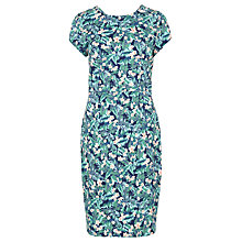 Buy Sugarhill Boutique Serita Palm Dress, Navy/Green Online at johnlewis.com