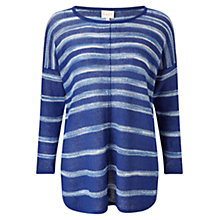 Buy East Space Dye Linen Jumper Online at johnlewis.com