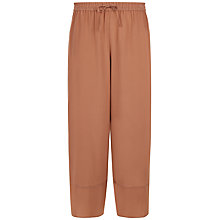 Buy Jaeger Wide Leg Culottes, Russet Brown Online at johnlewis.com