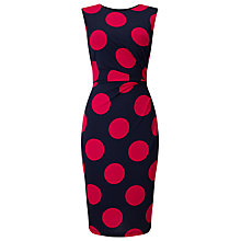 Buy Phase Eight Anna Spot Dress, Pink/Navy Online at johnlewis.com