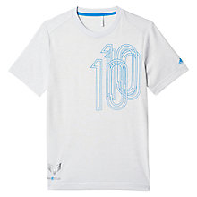 Buy Adidas Boys' Messi Icon Football T-Shirt Online at johnlewis.com