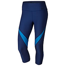 Buy Nike Power Legend 3/4 Length Training Tights, Blue Online at johnlewis.com