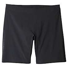 Buy Adidas A2G Long Shorts, Black Online at johnlewis.com