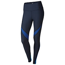 Buy Nike Power Legend Training Tights, Obsidian/Deep Royal Blue Online at johnlewis.com