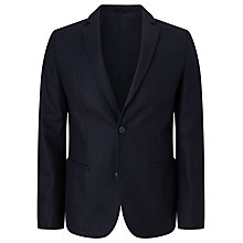 Buy Kin by John Lewis Twill Blazer, Navy Online at johnlewis.com