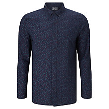 Buy JOHN LEWIS & Co. Tamari Print Shirt, Indigo Online at johnlewis.com