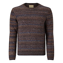 Buy JOHN LEWIS & CO. Made in Italy Space Dye Wool Jumper Online at johnlewis.com