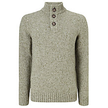Buy John Lewis Frosty Button Neck Jumper Online at johnlewis.com