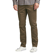 Buy John Lewis 5 Pocket Stretch Jean, Taupe Online at johnlewis.com