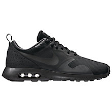 Buy Nike Air Max Tavas Men's Trainers, Black Online at johnlewis.com
