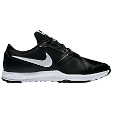 Buy Nike Air Epic Speed Low Top Men's Cross Trainers, Black/White Online at johnlewis.com