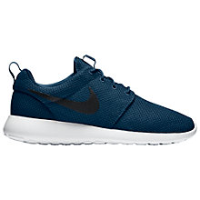 Buy Nike Roshe One Men's Trainers, Navy Online at johnlewis.com
