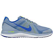 Buy Nike Men's Dual Fusion X2 Running Shoes, Blue/Multi Online at johnlewis.com