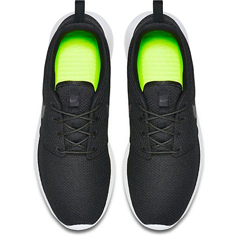 zqgjrh Buy Nike Roshe One Men\'s Trainers, Black/Anthracite | John Lewis