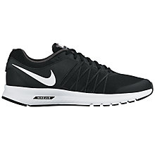 Buy Nike Air Relentless 6 Men's Running Shoes, Black/White Online at johnlewis.com