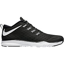 Buy Nike Free Train Quick Men's Cross Trainers, Black/White Online at johnlewis.com