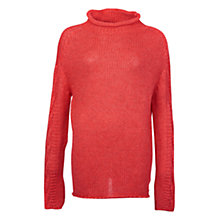Buy Barbour Melilot Jumper, Rich Coral Online at johnlewis.com