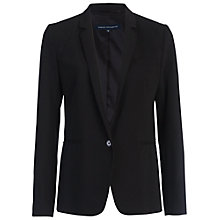 Buy French Connection Chelsea Suiting Classic Jacket, Black Online at johnlewis.com