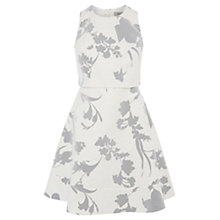 Buy Coast Lilou Floral Dress, White Online at johnlewis.com