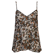 Buy French Connection Evelyn Rose Strappy Cami Top, Gator Green Online at johnlewis.com