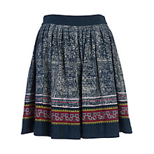 Buy French Connection Lila Tile Skirt, Multi Online at johnlewis.com