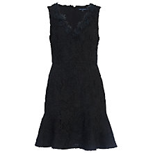 Buy French Connection Bloomsbury Lace Dress, Black Online at johnlewis.com