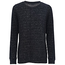 Buy French Connection Douglas Jumper, Black Online at johnlewis.com