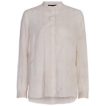 Buy French Connection Prince Cotton Stitch Long Sleeve Shirt, Jute Online at johnlewis.com