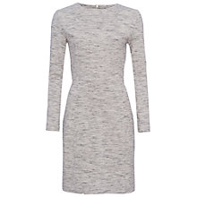 Buy French Connection Lula Stretch Bodycon Dress, Heather Grey Online at johnlewis.com