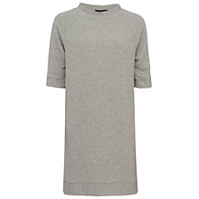 Buy French Connection Summer Sudan Raglan Dress, Grey Online at johnlewis.com