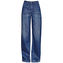 Buy French Connection Ash Matelot Jeans, Mid Vintage Online at johnlewis.com