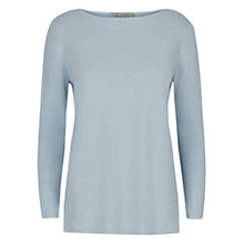 Buy Hobbs Kristy Jumper, Powder Blue Online at johnlewis.com