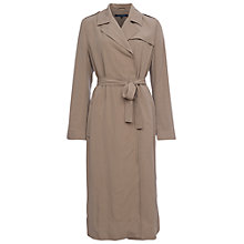 Buy French Connection Side Walk Belted Coat, Sandstone Online at johnlewis.com