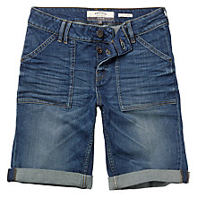 Buy Fat Face Cargo Shorts, Denim Online at johnlewis.com