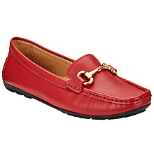 Buy John Lewis Gina Driver Moccasin Flat Shoes Online at johnlewis.com