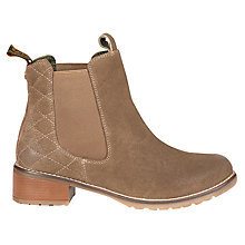 Buy Barbour Latimer Block Heeled Ankle Boots Online at johnlewis.com