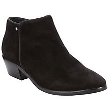 Buy John Lewis Pamina Ankle Boots, Black Online at johnlewis.com