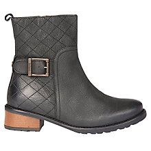 Buy Barbour Lambeth Block Heeled Ankle Boots Online at johnlewis.com