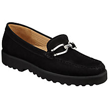 Buy John Lewis Garcelle Metal Trim Flat Moccasins Online at johnlewis.com