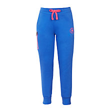 Buy Converse Girls' Core Joggers, Blue/Pink Online at johnlewis.com