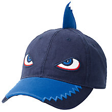Buy Fat Face Children's Swordfish Hat, Navy Online at johnlewis.com