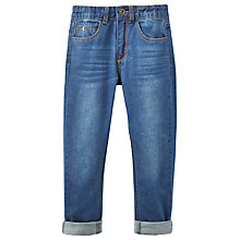 Buy Little Joule Boys' Junior Ted Jeans, Blue Online at johnlewis.com