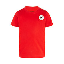Buy Converse Boys' Chuck Patch Logo T-Shirt Online at johnlewis.com
