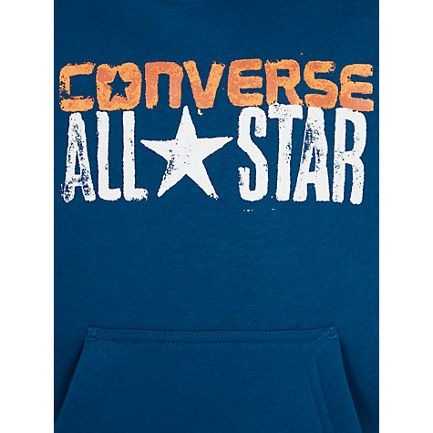 buy converse boys 39 all star pullover hoodie blue lagoon. Black Bedroom Furniture Sets. Home Design Ideas