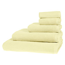 Buy John Lewis House Rib Weave Towels Online at johnlewis.com