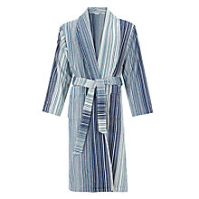 Buy John Lewis Spirit Stripe Bath Robe Online at johnlewis.com