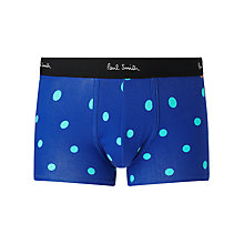 Buy Paul Smith Spot Trunks, Blue Online at johnlewis.com