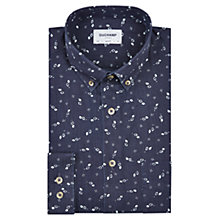 Buy Duchamp Diamonds Slim Fit Shirt, Navy Online at johnlewis.com