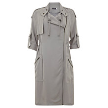 Buy Mint Velvet Georgette Longline Parka, Grey Online at johnlewis.com