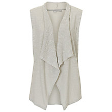 Buy Betty & Co. Sleeveless Cardigan, Lunar Rock Online at johnlewis.com